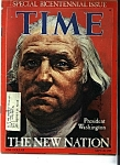 Time Magazine -  September 26, 1789