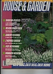 House & Garden magazine - May 1982