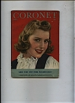 Click here to enlarge image and see more about item J9251: Coronet magazine April   1944