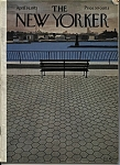 Click here to enlarge image and see more about item J9270: The New Yorker Magazine - April 14, 1973