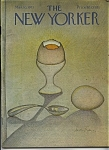 Click here to enlarge image and see more about item J9276: The New Yorker magazine - March 10, 1973