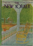 Click here to enlarge image and see more about item J9286: The New Yorker Magazine - September 1, 1975