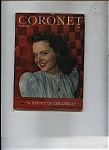 Click here to enlarge image and see more about item J9326: Coronet Magazine- February 1946