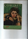 Click here to enlarge image and see more about item J9329: Coronet Magazine - March 1944