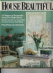 Click here to enlarge image and see more about item J9418: House Beautiful magazine - March 1981