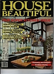 Click here to enlarge image and see more about item J9419: House Beautiful  Magazine - July 1981