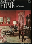 Click here to enlarge image and see more about item J9445: The American Home - November  1952