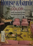House & Garden Magazine - September 1965