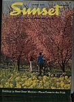Click here to enlarge image and see more about item J9502: Sunset Magazine - March 1968