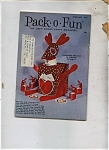 Pack - O - Fun Magazine - February 1972