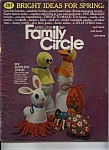 Family Circle  magazine - April 1968