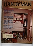 Click here to enlarge image and see more about item J9628: The Family Handyman - October 1967