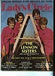 Click here to enlarge image and see more about item J9663: Lady's Circle Magazine - June 1968 Lennon Sisters