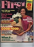 Click here to enlarge image and see more about item J9679: FIRST for women magazine - August 27, 1990