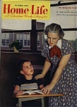 Click here to enlarge image and see more about item J9738: Home Life Magazine - October 1953