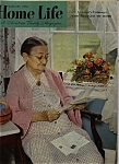 Click here to enlarge image and see more about item J9743: Home Life Magazine - January 1955