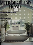 Click here to enlarge image and see more about item J9754: Metropolitan Home Magazine - October 1986