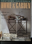 Southern California HOME & GARDEN magazine - Oct. 1988