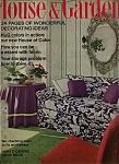 Click here to enlarge image and see more about item J9757: House & Garden Magazine - April 1968