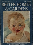 Better Homes & Gardens - January 1933