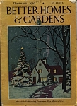 Better Homes & Gardens magazine - December 1930
