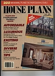 House Plans Magazine - Fall 1989