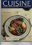 Click here to enlarge image and see more about item J9861: Cuisine Magazine - September 1981