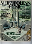 Click here to enlarge image and see more about item J9868: Metropolitan Home Magazine =-  April 1984