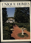 Unique Homes Magazine- Winter 1981 - 1982