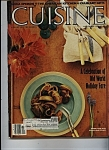 Click here to enlarge image and see more about item J9930: Cuisine Magazine - December 1984