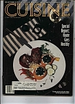 Click here to enlarge image and see more about item J9931: Cuisine Magazine - September 1984