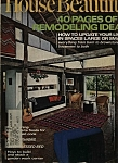 House Beautiful  Magazine- May 1971
