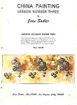 Click here to enlarge image and see more about item JS3A: CHINA PAINTING LESSON 3~ BY JEAN SADLER OOP