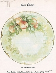 Click here to enlarge image and see more about item JS48: JEAN SADLER~CRAB APPLE  DESIGN~48~VINTAGE