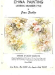 Click here to enlarge image and see more about item JS5A: CHINA PAINTING LESSON  5 BY JEAN SADLER OOP