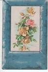 Click here to enlarge image and see more about item KLEIN09: CATHERINE KLEIN~ROSES~POSTCARD~~STUDY