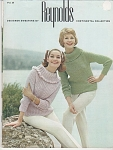 Click here to enlarge image and see more about item KNIT102: DESIGNER SWEATERS BY REYNOLDS~OOP