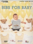 Click here to enlarge image and see more about item KNIT216: CROSS STITCH~BIBS FOR BABY~LEISURE ARTS 646
