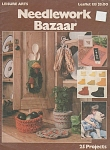 Click here to enlarge image and see more about item KNIT272: VINTAGE~Needlework Bazaar Craft book~LA135