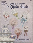 Click here to enlarge image and see more about item KNIT275: DOILIES TO CROCHET FOR LITTLE HATS