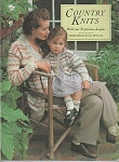 Click here to enlarge image and see more about item KNIT278: KNITTING~COUNTRY KNITS~30 DESIGNS