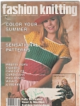 Click here to enlarge image and see more about item KNIT38: Fashion Knitting Magazine~Number 25~June 1986