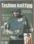 Click here to enlarge image and see more about item KNIT39: Fashion Knitting Magazine~Number 20~AUG~ 1985