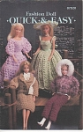 Click here to enlarge image and see more about item KNIT43: QUICK & EASY~Crochet Book~FASHION DOLL~OOP~AN