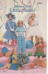 Click here to enlarge image and see more about item KNIT44: LITTLE SISTER~Crochet Book~FASHION DOLL~RARE~