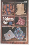 Click here to enlarge image and see more about item KNIT46: VINTAGE~Afghans Plus 87S54