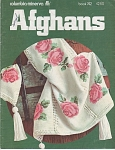 Click here to enlarge image and see more about item KNIT53: COLUMBIA~MINERVA~AFGHANS~BOOK 742