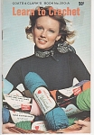 Click here to enlarge image and see more about item KNIT54: VINTAGE ~ LEARN TO CROCHET  ~ 1974 ~ 210A
