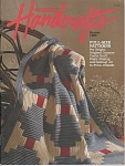 Click here to enlarge image and see more about item KNIT75: COUNTRY HANDCRAFTS BAZAAR~1988~AFGHANS & MORE
