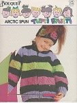 Click here to enlarge image and see more about item KNIT93: BOUQUET~TUTTI FRUTTI~ARCTIC SPUN~KID SWEATERS